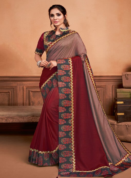 SAREE AT OMZARA.COM